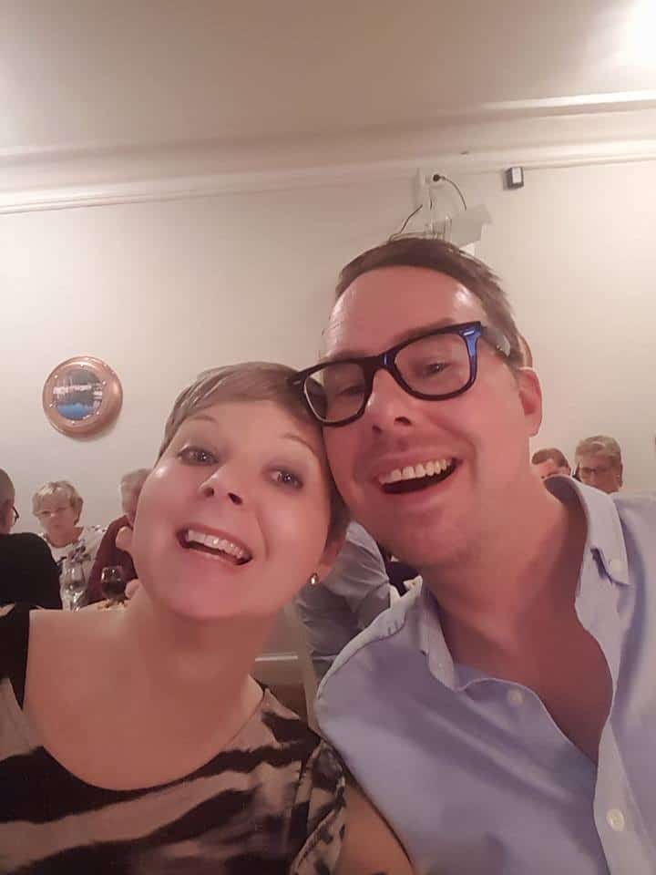 Louise och hennes man