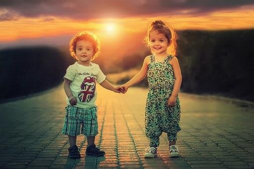 barn vänner